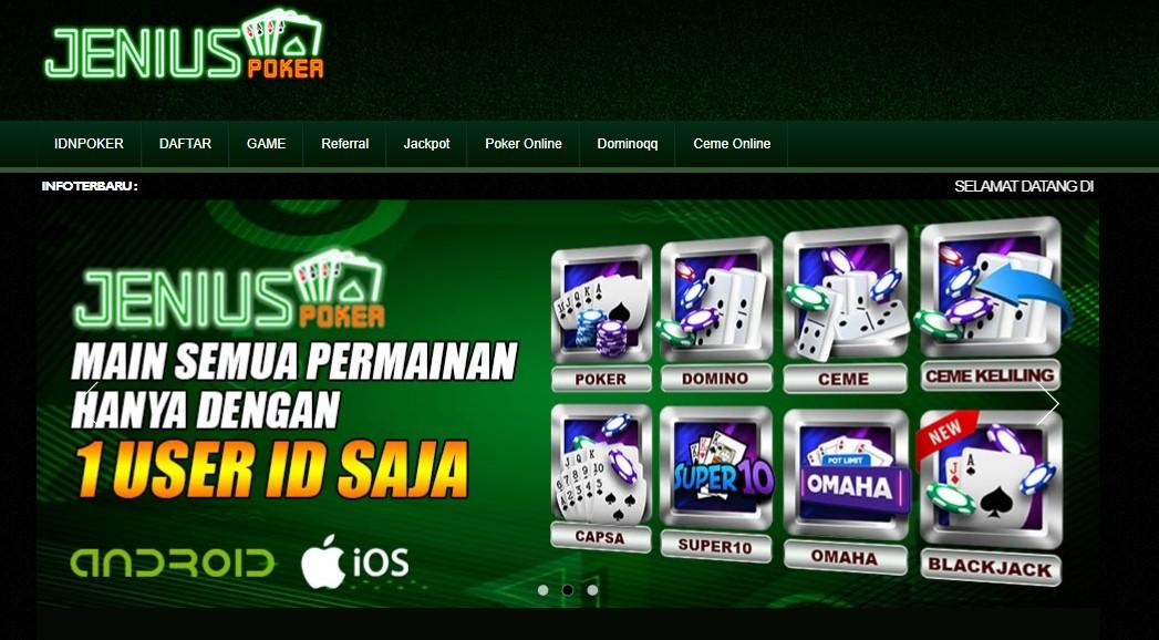 Asiknya Bermain Game Idn Poker Terlengkap di Agen ResmiJeniuspoker